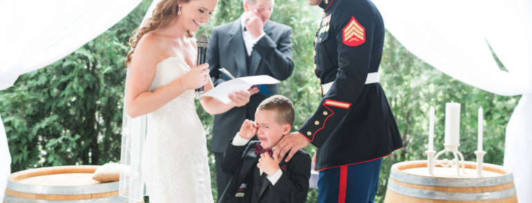 Blended Family Wedding – Vow to Marry Your Step Kids Too!