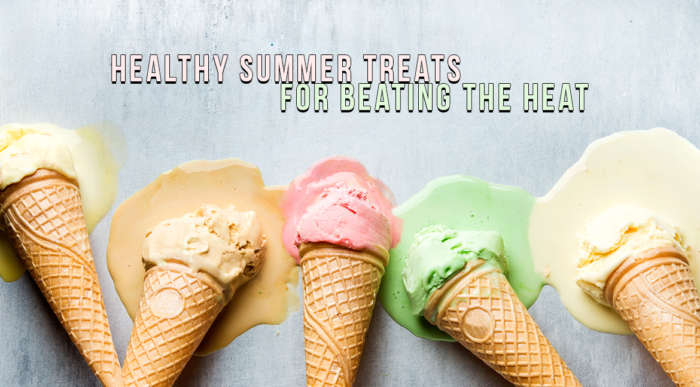 healthy summer treats for beating the heat ice cream cones