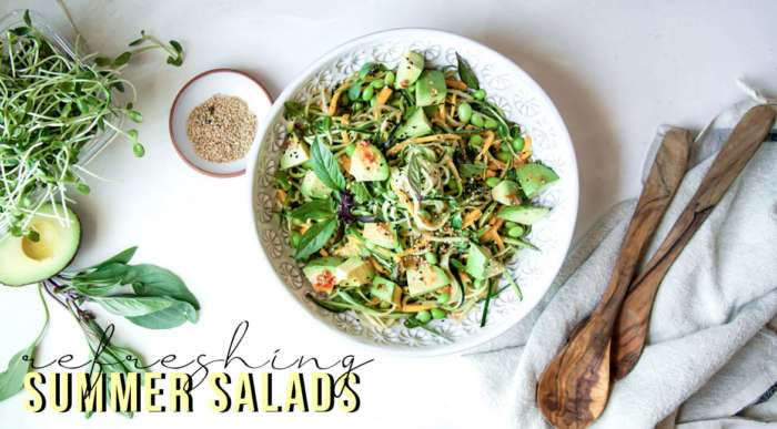 Refreshing Summer Salads To Make You Fall in Love With Healthy Eating