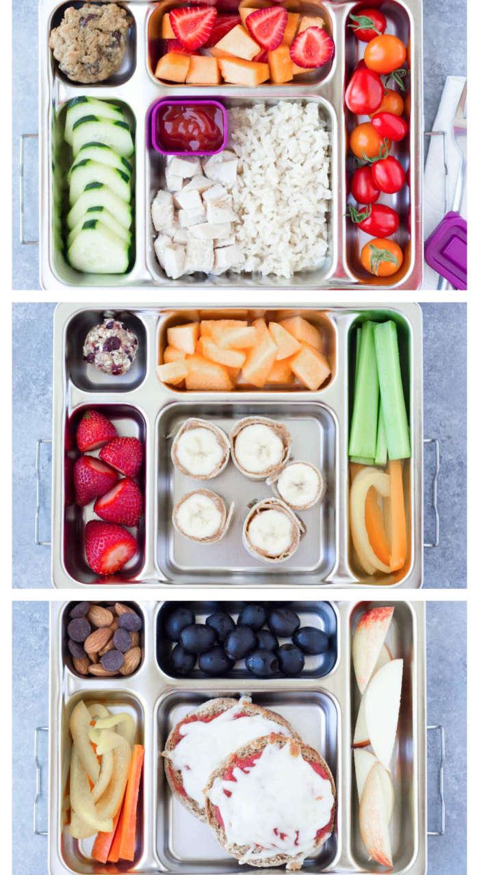 5 healthy lunches for back to school